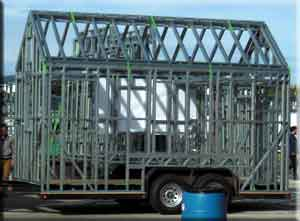 Steel frame premade