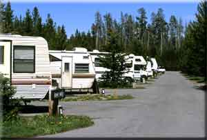 Living in an RV.