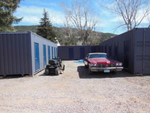 Shipping Containers converted to storeage units