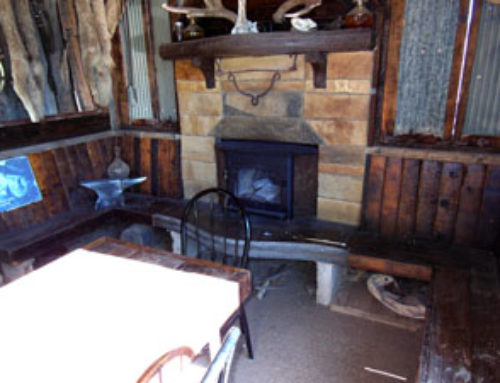 Man-Cave Cozy Outdoor Kitchen