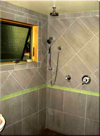 Shower in Auxiliary Dwelling Units