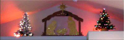 Nativity tiny house loft